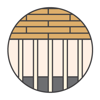 Floor Insulation Icon